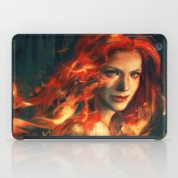 war iPad Cases featuring War by Alice X. Zhang