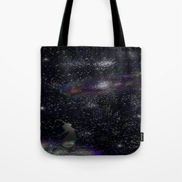 This Life Is Beautiful, With the Colors of The Universe Tote Bag