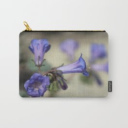 Canterbury Bell 2 Coachella Wildlife Preserve Carry-All Pouch