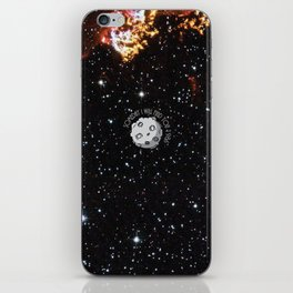 A Meteor in the space iPhone Skin