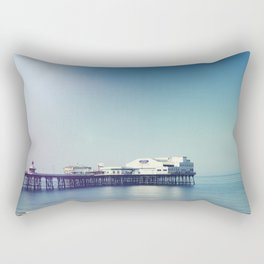 Summer pier Rectangular Pillow