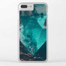 The Sea's Diamond Clear iPhone Case