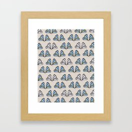 Madam Butterfly Print Framed Art Print