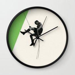 Descent II Wall Clock