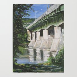 Rt 201S Bridge Poster
