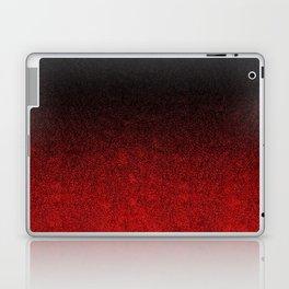 Red & Black Glitter Gradient Laptop & iPad Skin