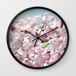 Lilac pink 300 Wall Clock