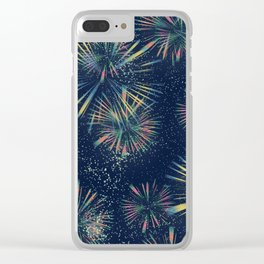 Fireworks! Clear iPhone Case