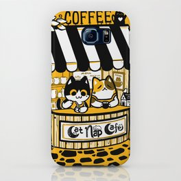 Cat Nap Cafe iPhone Case