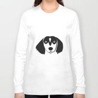 dachshund Long Sleeve T-shirts featuring Dachshund by anabelledubois