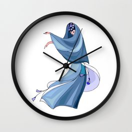 Colorful Dress #60 Wall Clock