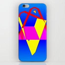 Geometrics One Version Two iPhone Skin