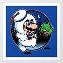 Super Marshmallow Bros. by mikehandyart