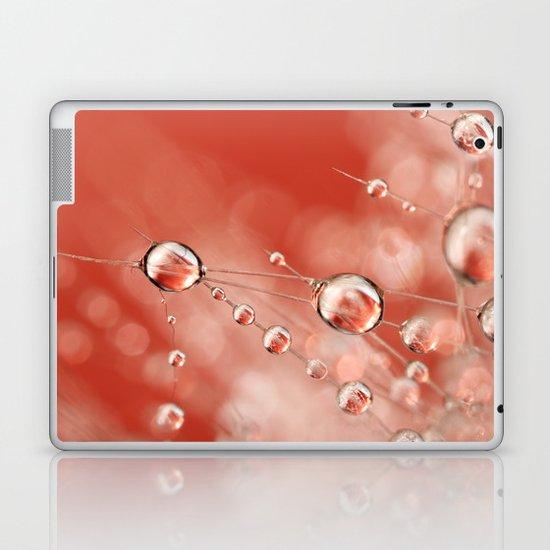 Cactus Rose Drops Laptop & iPad Skin