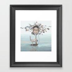The Leaf Boatman Framed Art Print