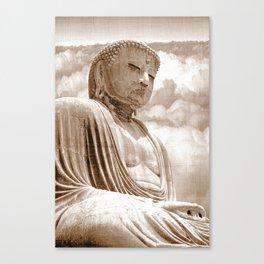 Daibutsu Great Buddha of Kamakura Canvas Print