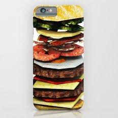 Graphic Burger Slim Case iPhone 6s
