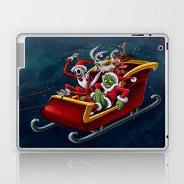 Christmas Hijackers Laptop & iPad Skin