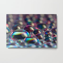 Droplets 02 Metal Print