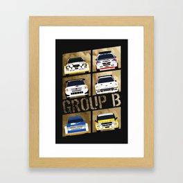 Group B Framed Art Print