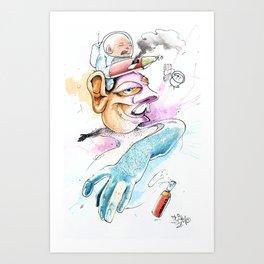 La Magia (The Magic) Art Print
