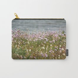 Impressionistic Bed of Flowers Carry-All Pouch