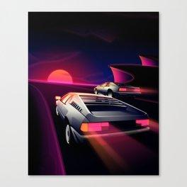 Cliffside Racers Canvas Print