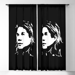THE 27 CLUB, GRUNGE AND ALTERNATIVE MUSIC STAR Blackout Curtain