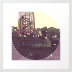 Glastonbury Festival 2010 Art Print