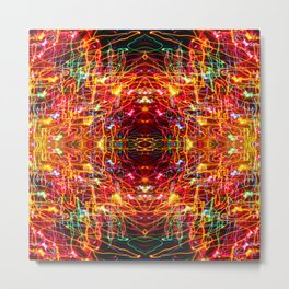 Project 80.1 - Abstract Photomontage Metal Print