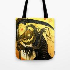 Autumn Harvester Tote Bag