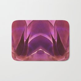 Purple Agave Bath Mat