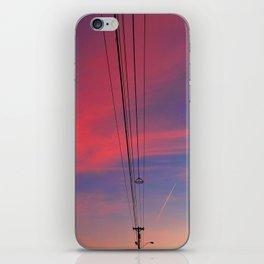 Blazing Lines iPhone Skin