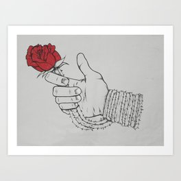For You My Love Art Print