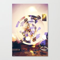 Roses Room Canvas Print