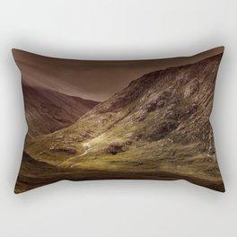 Mountain Panoramic Rectangular Pillow