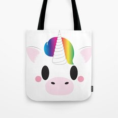 Unicorn Block Tote Bag