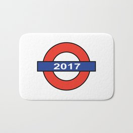 The London Underground 2017 Bath Mat