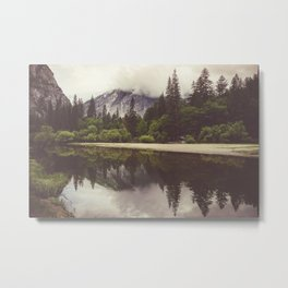 Yosemite Reflections Metal Print