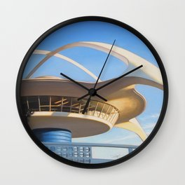 LAX Geometry Wall Clock