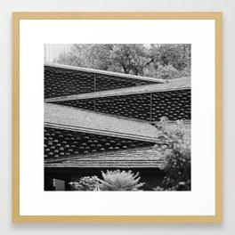 Roofs of Kengo Kuma 2 Framed Art Print