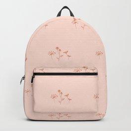 Wildflower Line Art Backpack