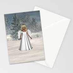 Little Winter Angel Stationery Cards