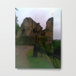 Knaresborough Castle North Yorkshire Metal Print