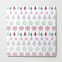 Christmas Design Metal Print