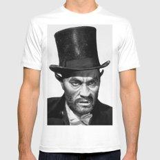 catman of paris t-shirt MEDIUM White Mens Fitted Tee