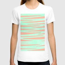 Sweet Life Soft Serve Peach Coral + Mint Meringue T-shirt