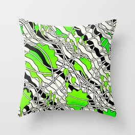 Dr. Malcolm Throw Pillow