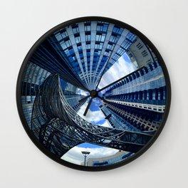 Northside Spiral Wall Clock