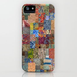 Turkish Marbled Paper Art (Ebru) iPhone Case